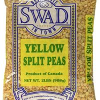 Great Bazaar Swad Split Peas, Yellow, 2 Pound