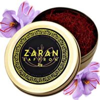 Zaran Saffron, Superior Saffron Threads (Premium) All-Red Saffron Spice (Highest Quality Saffron for your Paella, Risotto, Persian Tea, Persian Rice and Basmati Rice) (Spanish (Coupe), 2 gram)