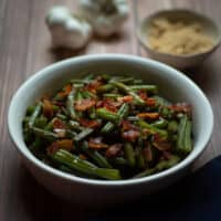 Bacon and Brown Sugar Arkansas Green Beans