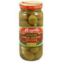 Mezzetta Olive, Stuffed Garlic, 10-Ounce