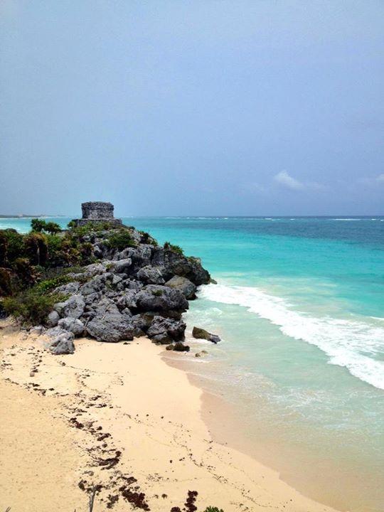 Seeing Mayan Ruins: Tulum, Rivieria Maya, Mexico