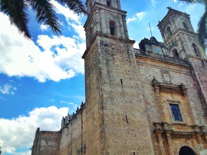 San Servacio Cathedral - Vallalodid, Rivieria Maya, Mexico