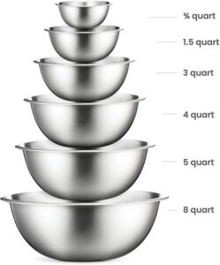 Best Gifts for Foodies - Mixing Bowl Set
