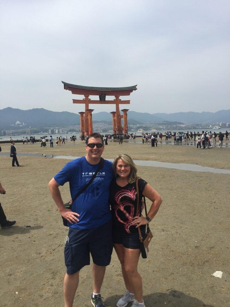 Miyajima Torri Gate in Japan