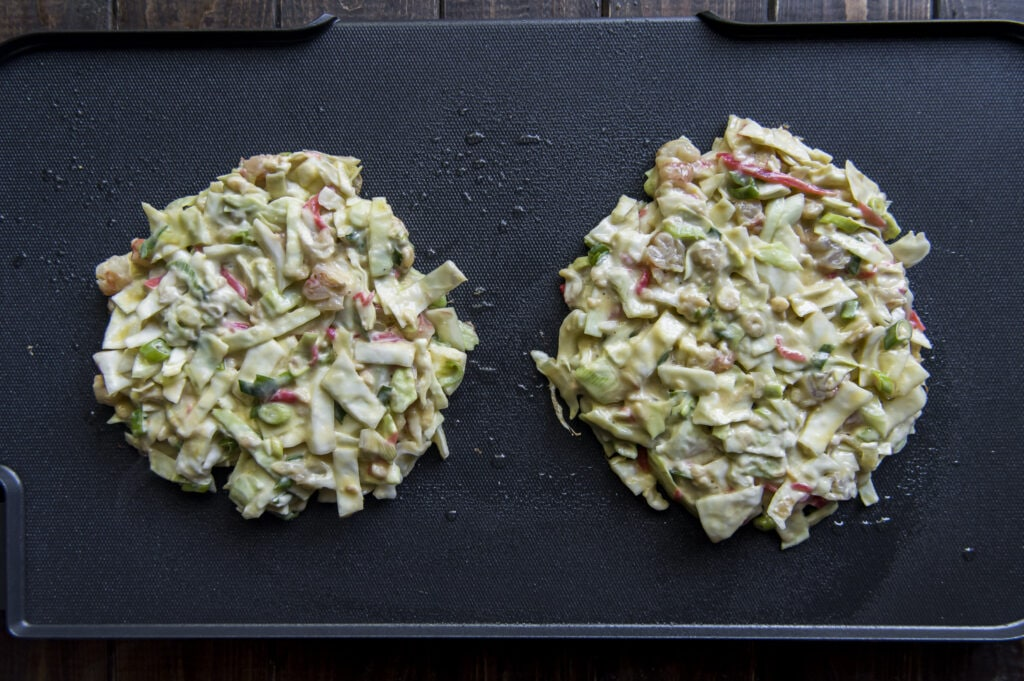 What is Okonomiyaki? Find out here and make this Easy Okonomiyaki recipe.