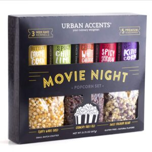 Best Christmas Food Gifts - Movie Night Popcorn Set