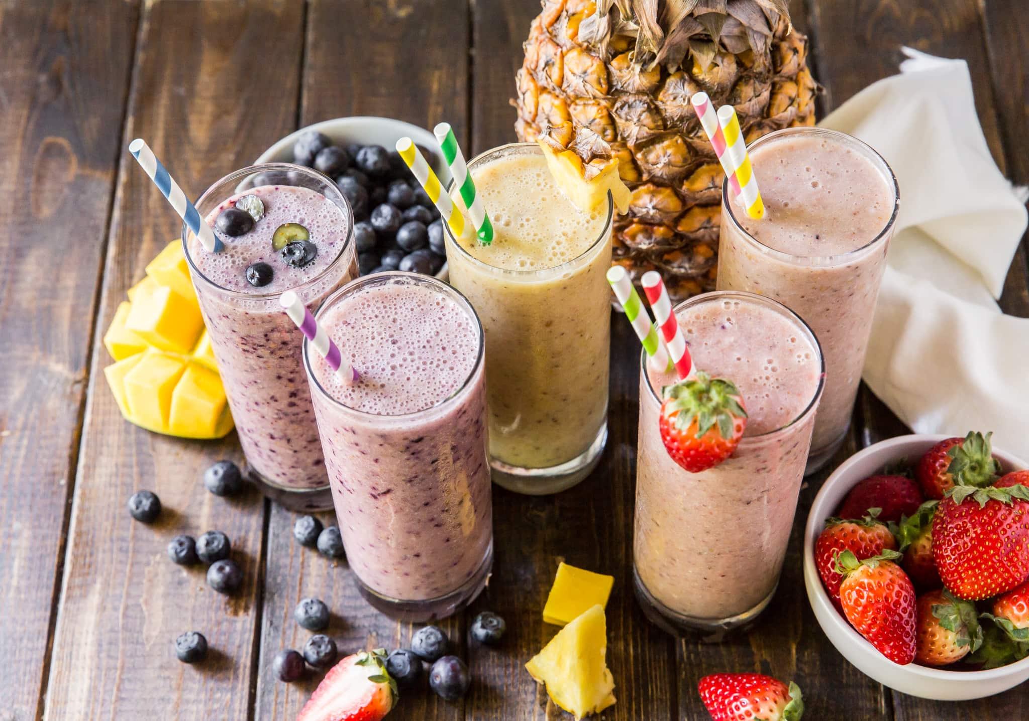 Five Easy Vegan Smoothies - The Wanderlust Kitchen