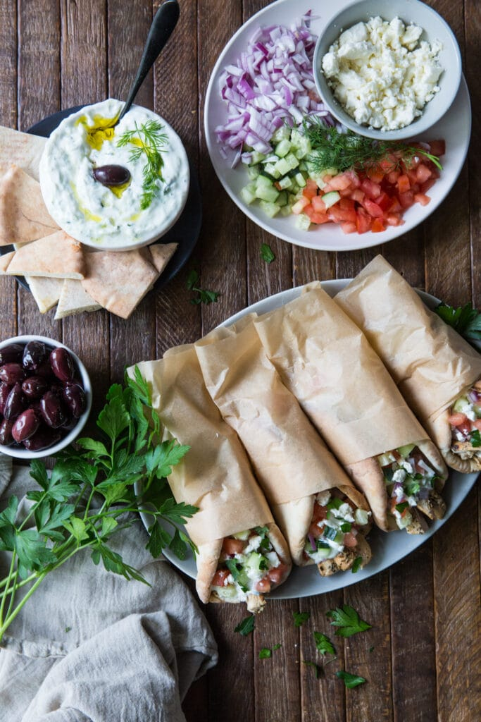 Looking for a gyro recipe chicken? Here is an amazing healthy chicken gyro recipe!