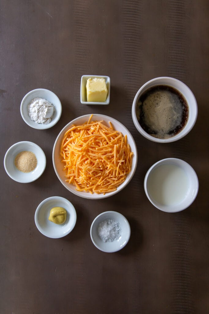 How to Make Guinness Beer Cheese Sauce, which is one of the ingredients for Irish Nachos