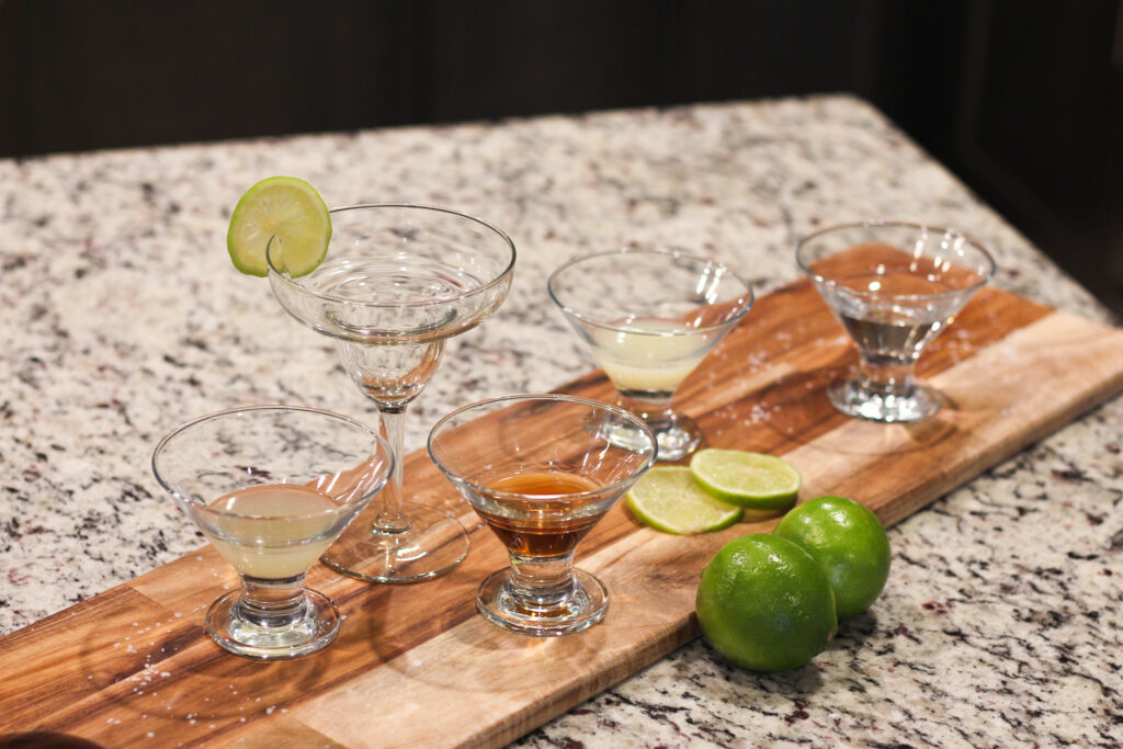 Looking for a recipe for Italian Margarita? This classic Italian Margarita Recipe combines tequila, amaretto liquor, lemon and lime juice for a perfect tangy drink!