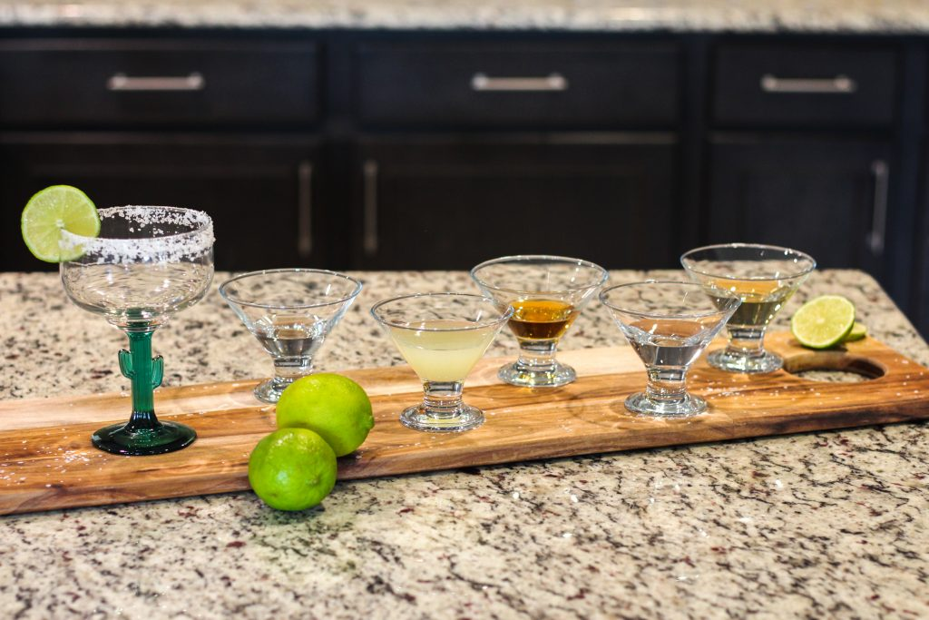 Looking for a Cadillac margarita ingredients? This delicious recipe uses reposado tequila along with Grand Marnier to create the best Cadillac Margarita!