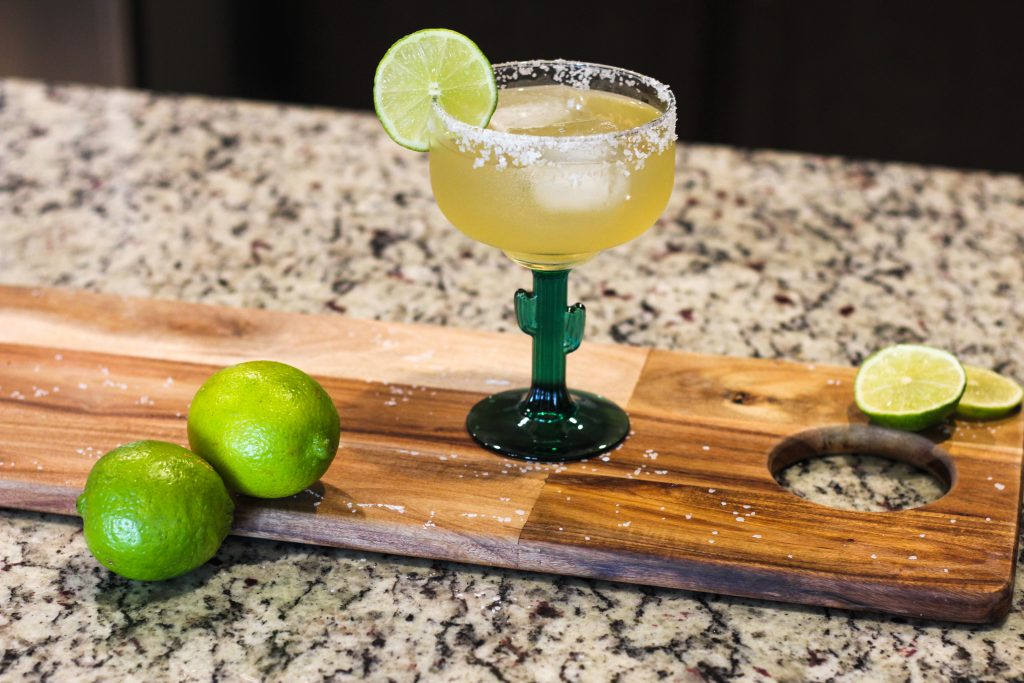 Wanting the best Cadillac margarita recipe? This delicious recipe uses reposado tequila along with Grand Marnier to create the best Cadillac Margarita!