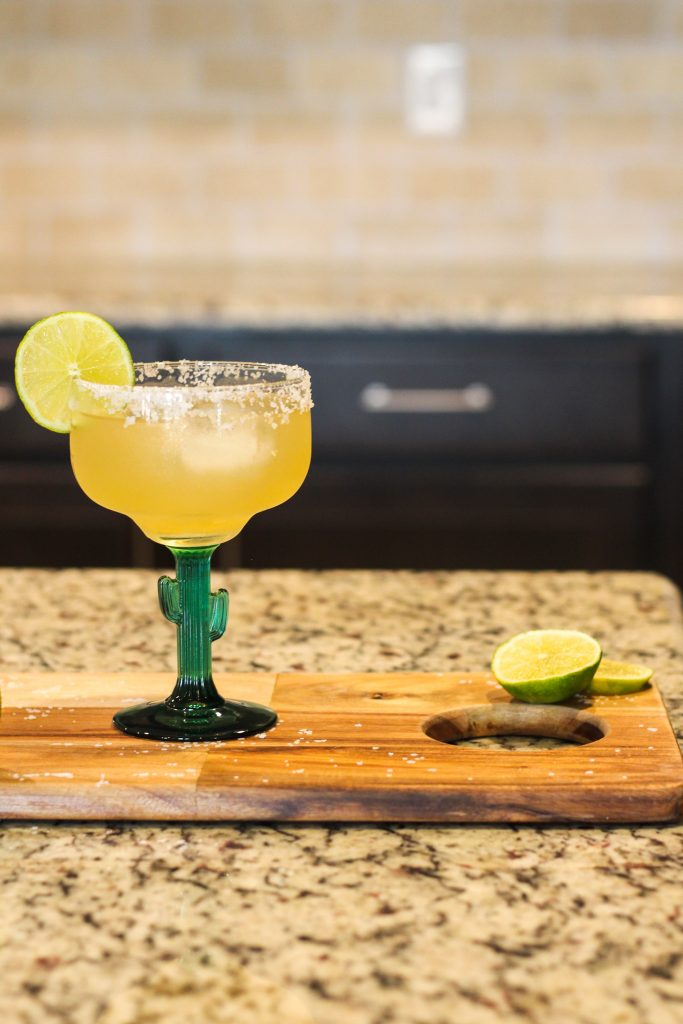 Looking for a top shelf classic Cadillac margarita? This recipe uses orange liqueur, ice cubes and premium ingredients to make a delicious margaritas recipe!
