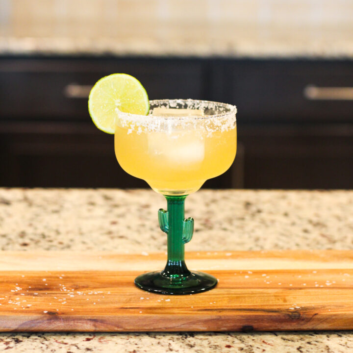 Looking for a Cadillac Margarita Cocktail? This delicious recipe uses reposado tequila along with grand mariner to create the best Cadillac Margarita!