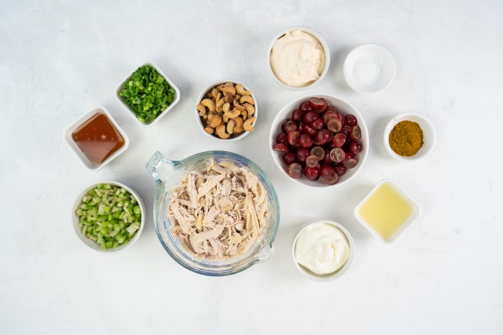 How to make curry chicken salad