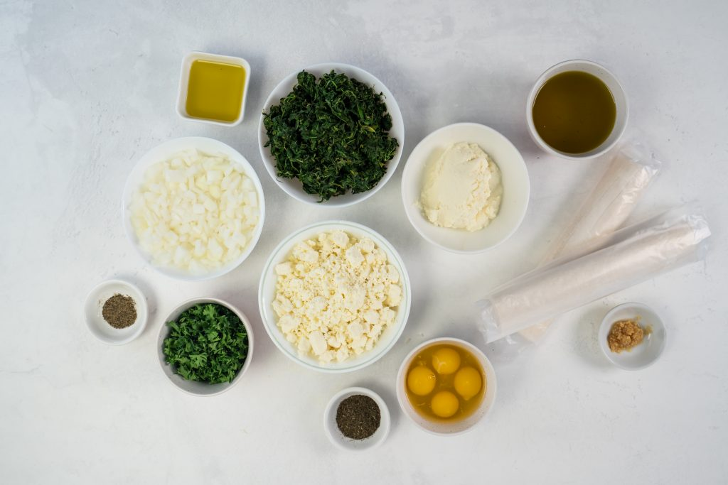 Looking for spanakopita ingredients? This Spanakopita recipe is a combination of the traditional Greek flavors of Spinach and Feta to make a delicious Greek Spinach Pie!