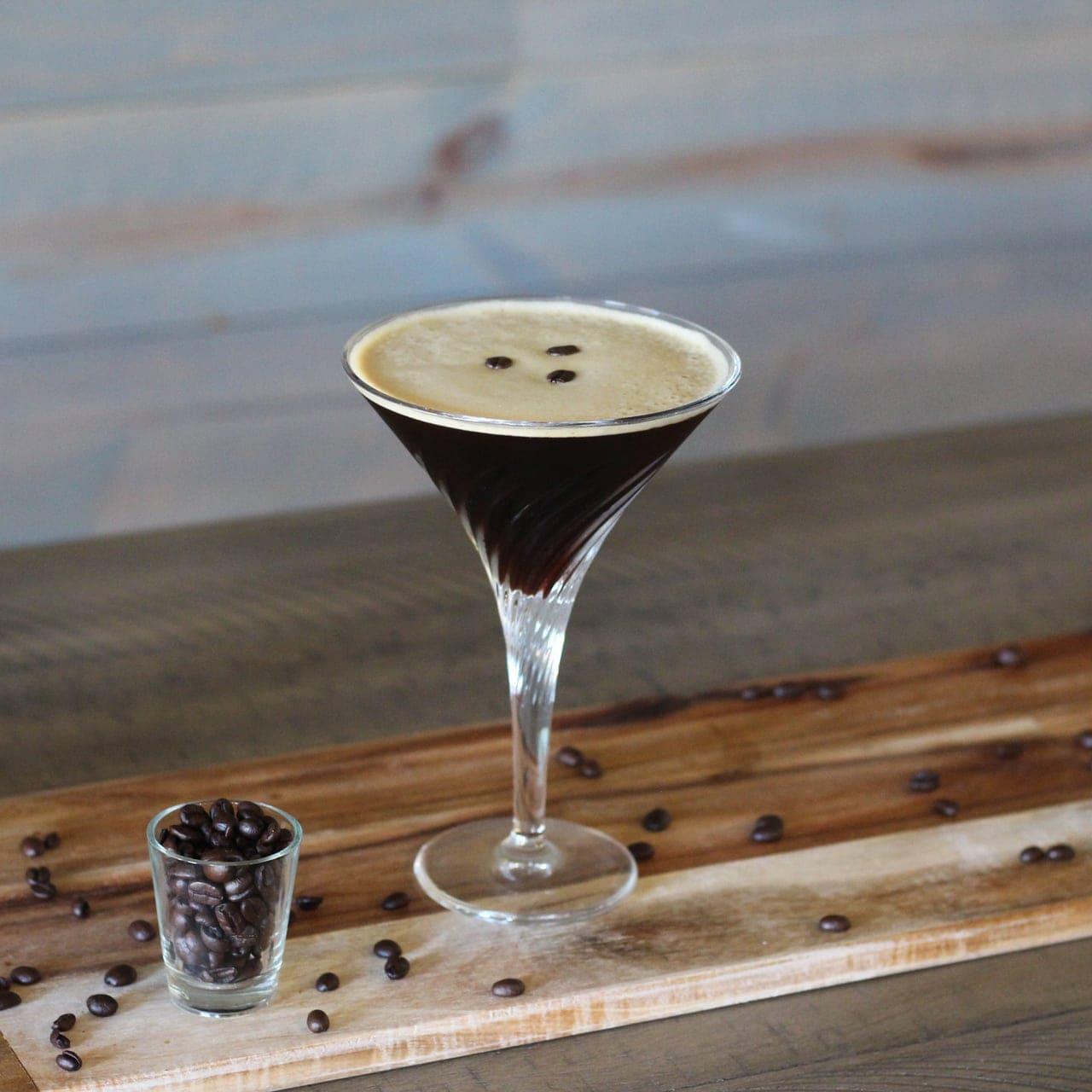 Pour the Vodka, Kahlua, and Espresso into a cocktail shaker over ice. Shake, Shake, Shake. Pour into your favorite martini glass and enjoy!