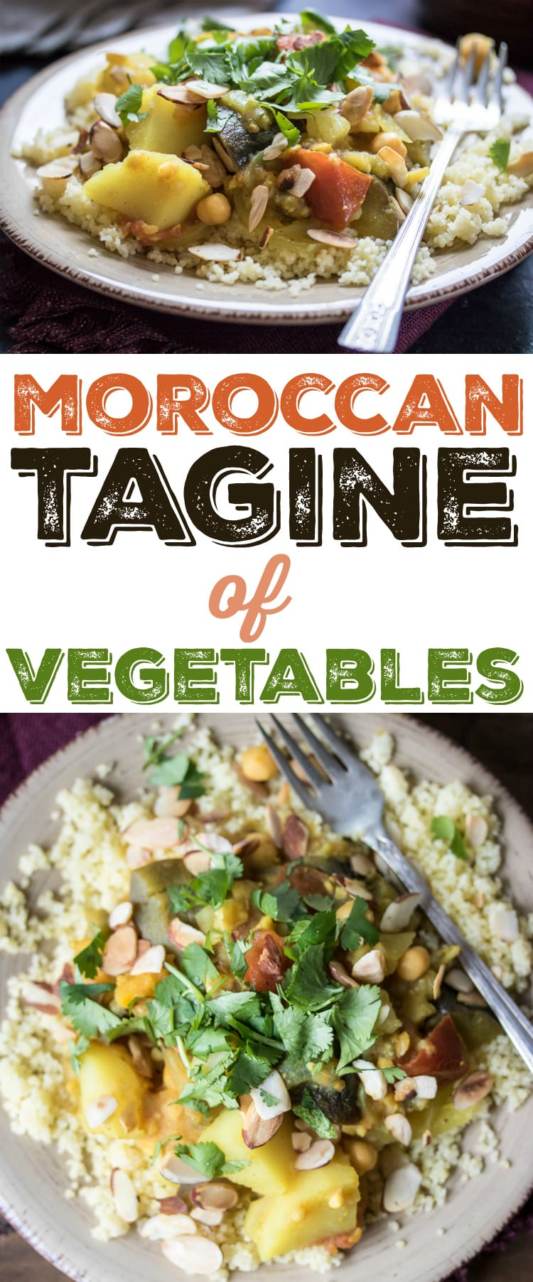 Moroccan tagine of vegetables the wanderlust kitchen a delightful and vegan tagine of eggplant potato chickpeas and forumfinder Gallery